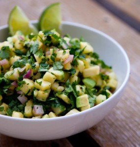 Paleo Pineapple Avocado Salsa