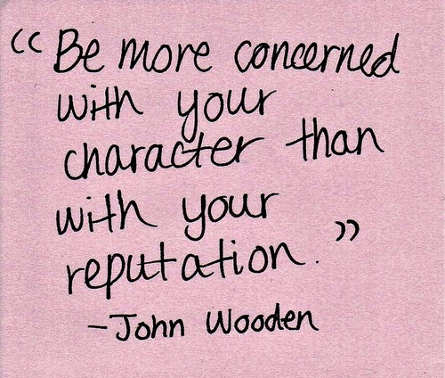 Inspirational Quotes On Character: Monday Morning Affirmations