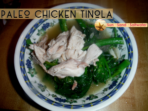 Paleo Chicken Tinola