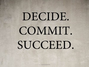 Decide Commit Succeed