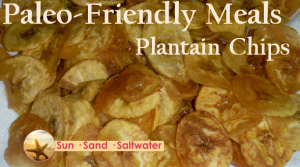 Paleo Friendly Meals Platain Chips